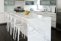Kitchen Design / Marble, Granite, Natural Stone