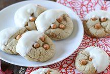 Food: cookies, brownies, etc