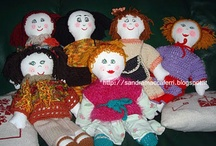 Bambole , pupazzi, amigurumi... / Bambole di pezza e di lana, pupazzi e Amigurimi