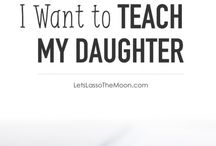50 thing to teach my daughter