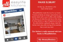 MyEasylifeStory Competition / The Team at Easylife Kitchens would like to thank everyone who entered our amazing 'My #EasyLifeStory' competition! Take time out to read the wonderful stories submitted by our Top 15 entries! Judges will be announcing the winner during the first week in December! Good luck to all!