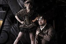 Steam. / Steampunk and dystopian themes.