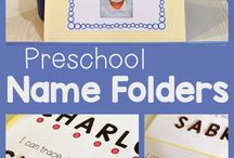 Name Practice / Name activities for toddlers and preschoolers.
