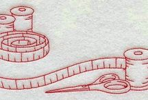 tarjetas coser