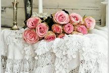 ☆ Vintage Shabby Chic Rose ✿ڿڰۣ(̆̃̃•