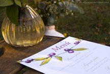 """♥ LMC - Minutas/Menús / Menus by La Marimorena Creativos - """"Nature Collection"""" 2016 www.lamarimorenacreativos.bigcartel.com #catering #boda #wedding #graphicdesign"""