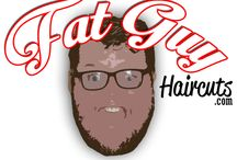 Fat Guy Hair Cuts / fatguyhaircuts.com  A safe place for fat guys to get great ideas for a hair cut!