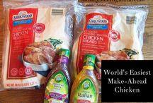 FOOD : Make Ahead Freezer cooking Recipes / by Heidi Leonard - OperationOrganizationbyHeidi