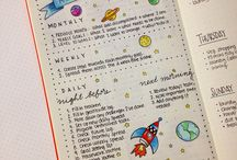 bullet journal planning routine