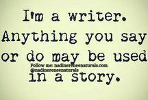 Writing writer
