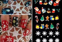 Christmas nails / Nail art has never been more affordable. Here is a selection of the coolest seasonal nail accessories at Walmart.com. You'll want to wear these Christmas nails right away.