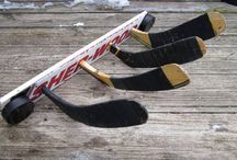 Hockey stick upcycle