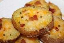 potatoes / Potatoes gr. Onion bacon cheese butter