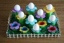 Décorations de Pâques / Toutes les idées déco pour préparer pâques avec les enfants