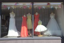 Windows and Fairs / Window and wedding fair displays by the Bridal House of Torrisholme