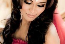 Hairstyles for mehndhi