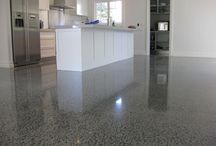 Polished concrete / Polished