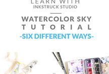 water colour tutorials