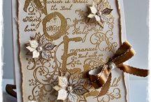 Heartfelt Creations Xmas Cards and Tags