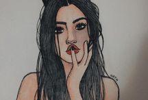 desenhos Tumblrs
