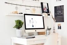 HOME-OFFICE <Inspiración> / Ideas para tener una oficina perfecta en casa.