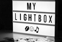Cinema Light Boxes / An illuminated LED cinema light box, reminiscent of vintage cinema and theatre signs, would make a stylish addition to a modern or retro interior. Cinema light boxes come in different sizes, with extra packs of letters, numbers and symbols available separately. Discover our collection today: