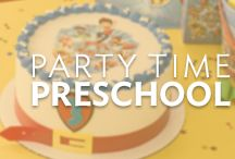 Party Time Pre-School / Host the perfect party for pre-schoolers with cake designs featuring the top birthday themes your kids will love.