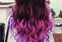 Цветные волосы/Colorful hair