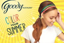 Color Your Summer / Summertime trends from Goody!
