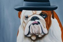 Pet Portraits / Some example Artwork from our Pet Portrait Artists available for commissions at www.MyArtBrief.com