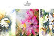 SANKETISTUDIO website