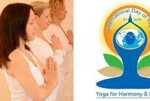 YOGA DAY / YOGA day - Nemzetközi Jóganap 2014 óta az év leghosszabb és legvilágosabb napján június 21-én