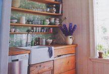 åpne hyller kjøkken