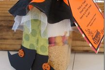 Fall and Halloween crafty ideas