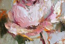 Schilderijen, bloemen etc. / Rozen
