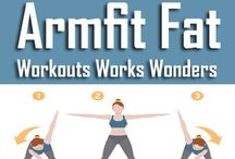 Armpit fat workout