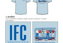 Interfraternity Council / Interfraternity Council custom shirt designs #interfraternitycouncil #ifc  For more information on screen printing or to get a proof for your next shirt order, visit www.jcgapparel.com
