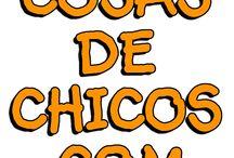 CosasDeChicos.com / Juguetería, Blanquería y Librería Online! Sólo artículos con Licencia Oficial - 100% Originales!