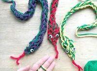 Finger Knitting & More