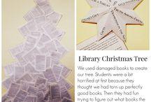 Christmas Book Display
