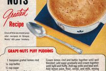 Vintage Recipes / by Cindy Cochran-Clift