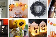 Halloween / Halloween food and decorating