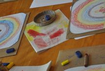 Drawing-Painting Waldorf Education