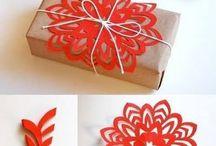 Gift wrapping / Christmas