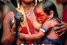 embrace nature, breastfeed