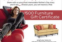 Thank you Mom! Celebrating Mother's Day. Send us your most memorable Mother's Day story / if we choose yours, we'll give you a $500 Furniture Gift certificate to use at one of our two showrooms. Just email your story to: info@goodshomefurnishings.com   Plus, Share with your friends! Thank you for sharing your incredible story.   For additional information go to:  http://www.goodshomefurnishings.com/mothers-day.inc / by Good's Home Furnishings