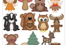 Clip Art - Animals / You can find a large selection of animal themed clip art graphics packages here :: http://www.clip-art-designs.com/clip-art/animal-clip-art