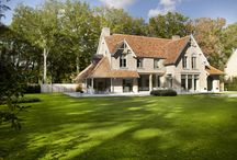 Landelijke mooie huizen