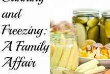 Canning and Preserving / Canning and preserving recipes, tips and resources for more information
