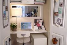 office/craft room / by Erin LeMieux